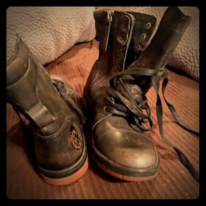 Lace up Diesal boots